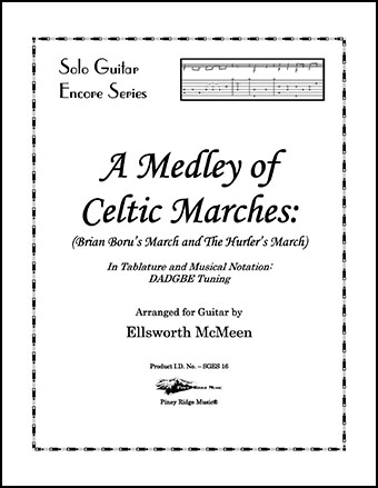 Medley of Celtic Marches (Guitar in Dropped D Tuning)