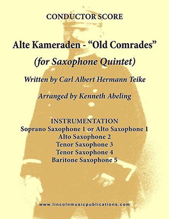 Alte Kameraden - Old Comrades Cover