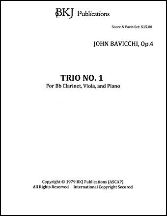 Trio No. 1, Op. 4