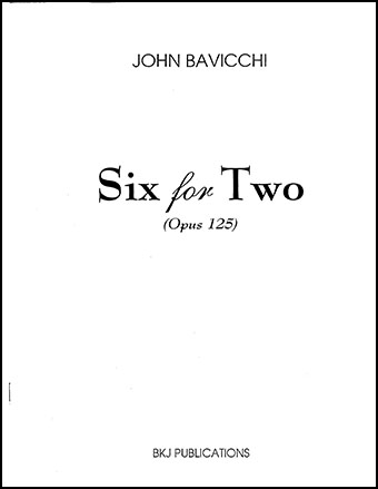 Six for Two, Op. 125