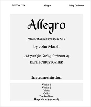 Allegro from Symphony No. 8