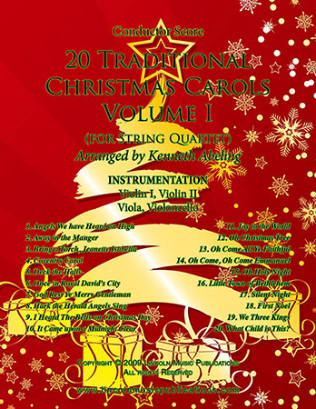 20 Traditional Christmas Carols Volume I