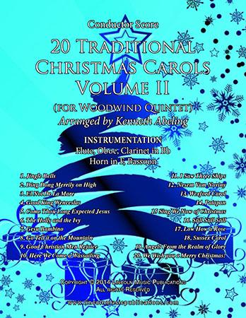 20 Traditional Christmas Carols Volume II