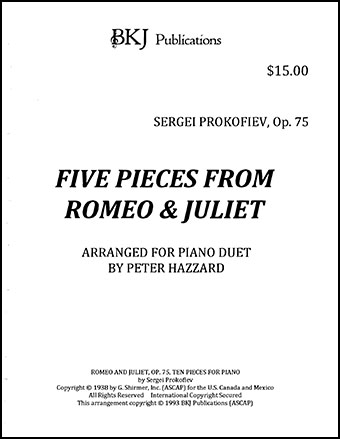 Five Pieces From Romeo & Juliet, Op 75