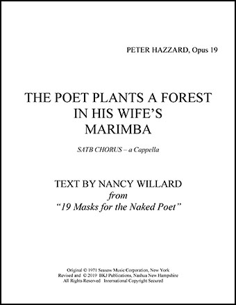 The Poet Plants A Forest In His Wife's Marimba
