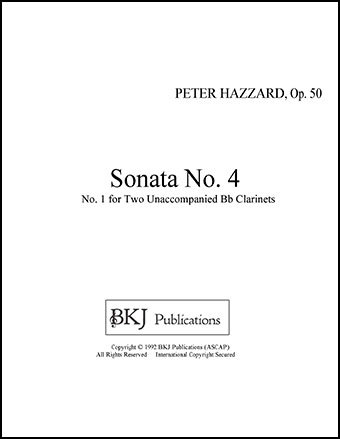 Sonata No. 2 For Two Bb Clarinets