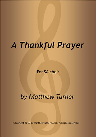 A Thankful Prayer