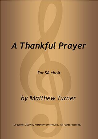 A Thankful Prayer
