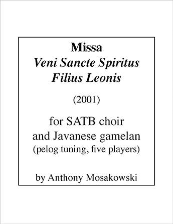 Missa Veni Sancte Spiritus Filius Leonis