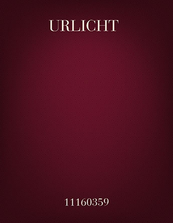 Urlicht (Primeval Light)