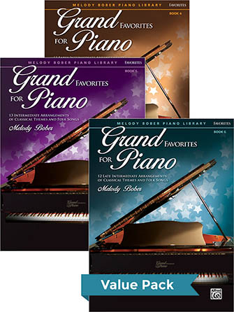 Grand Favorites for Piano #1 Thumbnail