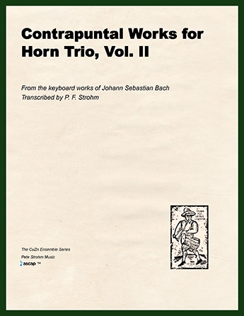 Contrapuntal Works for Horn Trio, Vol. II