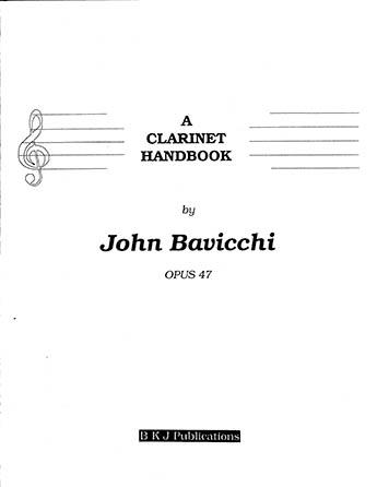 A Clarinet Handbook, Op. 47