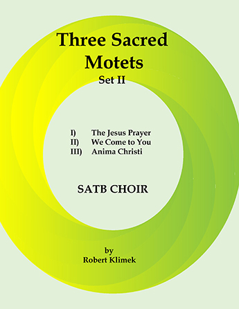 Three Sacred Motets Set II