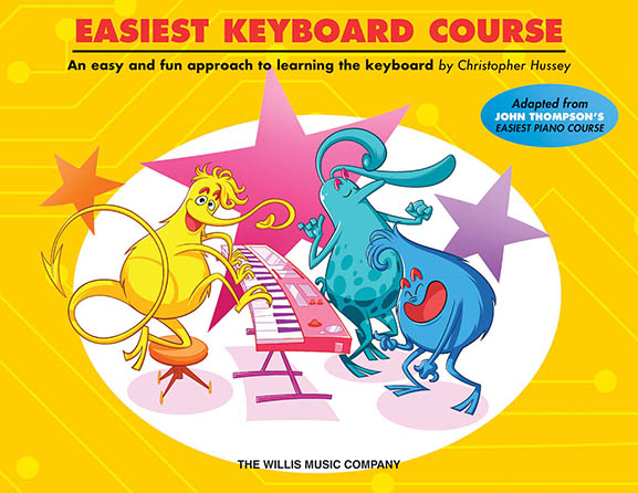 Easiest Keyboard Course with Online Audio Access