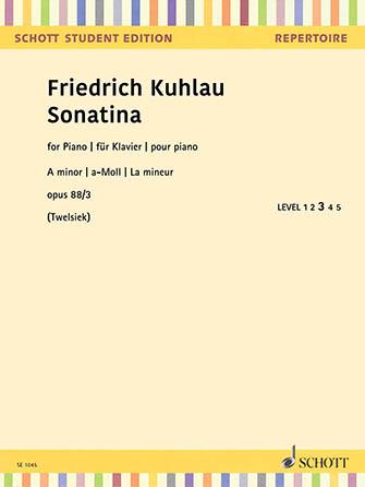 Sonatina in A Minor, Op. 88 No. 3