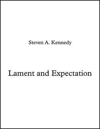 Lament and Expectation