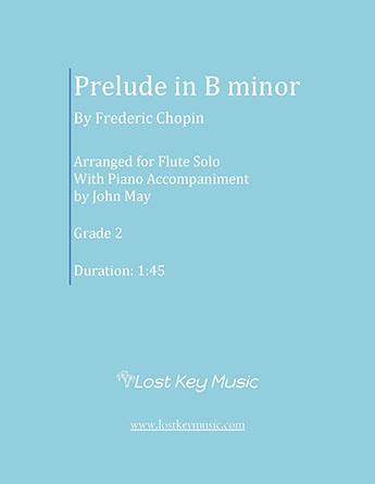 Prelude in B minor-Flute Solo