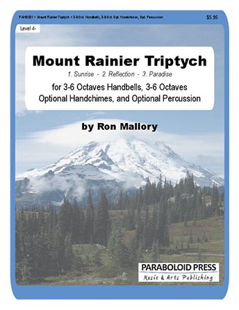 Mount Rainier Triptych