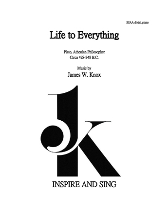 Life to Everything SSAA divisi and piano