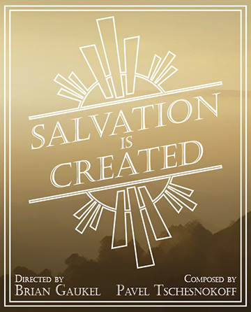 Salvation is Created Cover
