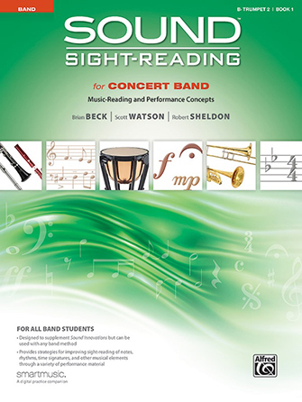 Sound Sight-Reading for Concert Band, Book 1 Cover