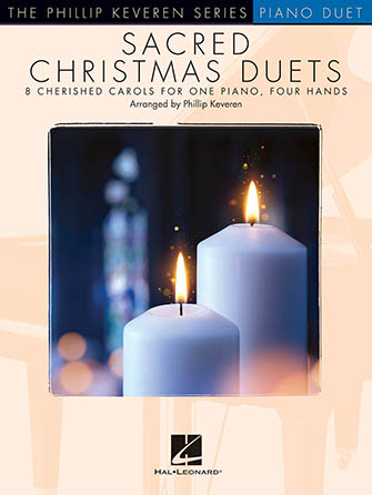 Sacred Christmas Duets 1 Piano/4 Hands church choir sheet music cover
