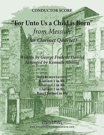 For unto Us a Child is Born from Messiah