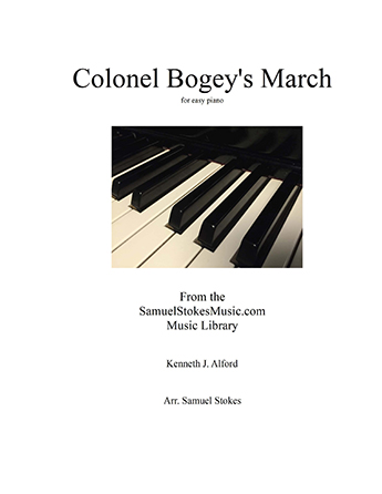 Colonel Bogey's March - for easy piano