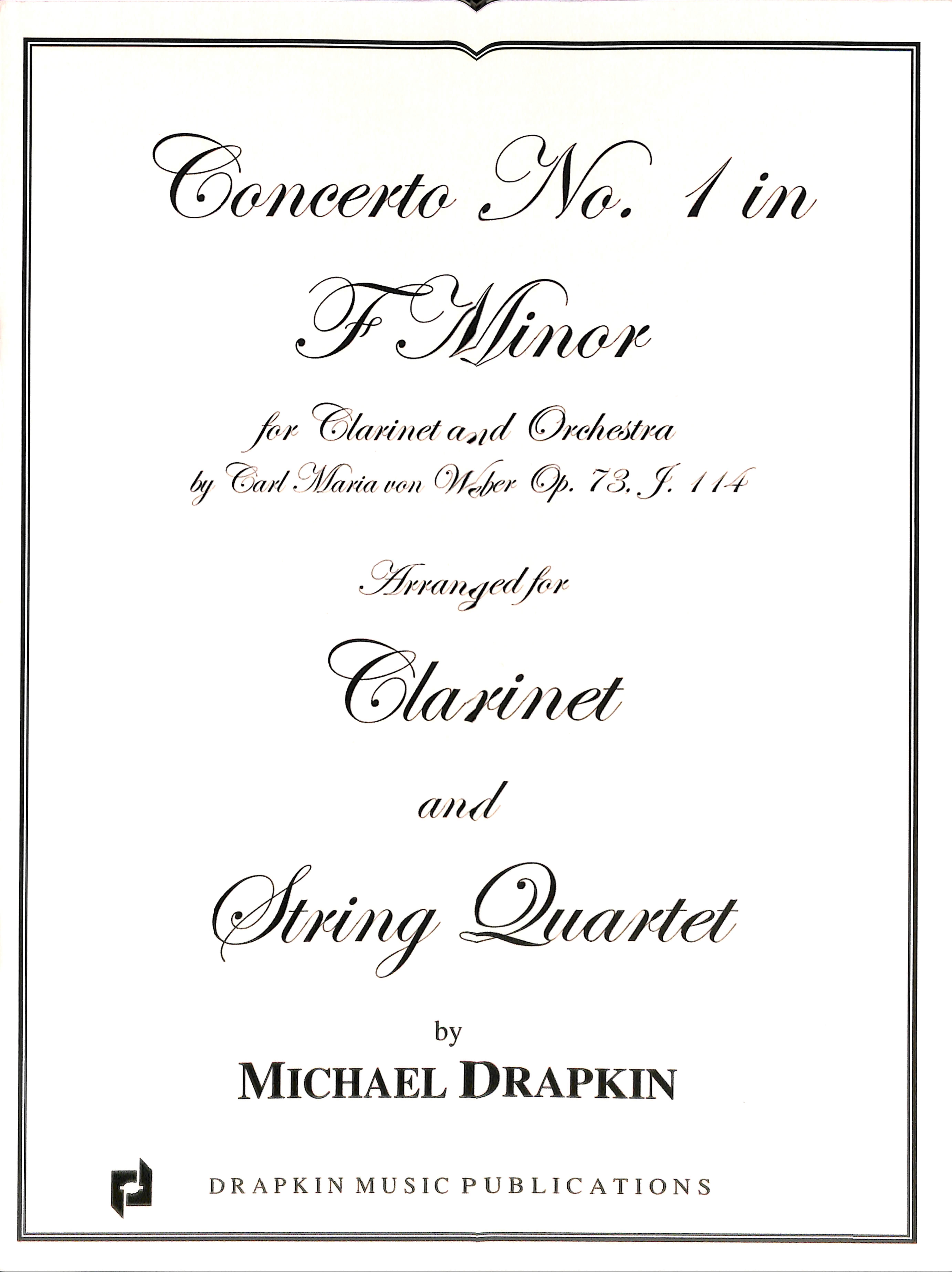 Concerto #1 in F Minor