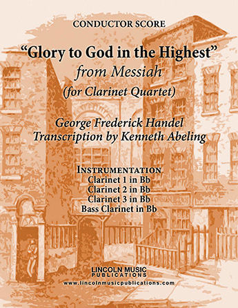 Glory to God in the Highest from Messiah