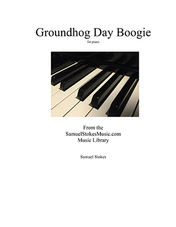 Groundhog Day Boogie - for early intermediate piano Thumbnail