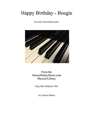 Happy Birthday - Boogie - for early-intermediate piano