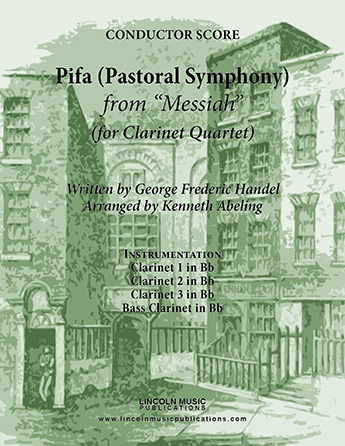 Pifa (Pastoral Symphony) from Messiah