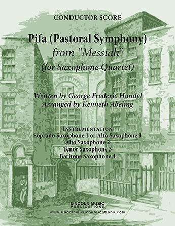 Pifa (Pastoral Symphony) from Messiah  Thumbnail