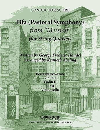 Pifa (Pastoral Symphony) from Messiah  Thumbnail