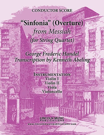Overture - Sinfonia from Messiah