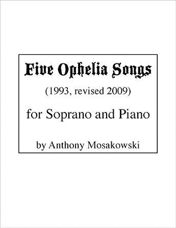 Five Ophelia Songs