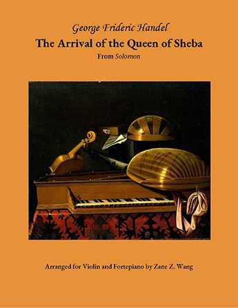 The Arrival of the Queen of Sheba (from Solomon)
