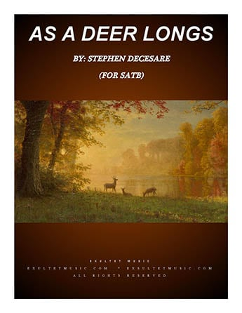 As A Deer Longs