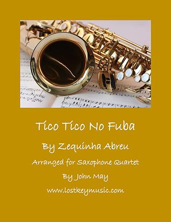 Tico Tico No Fuba - Saxophone Quartet