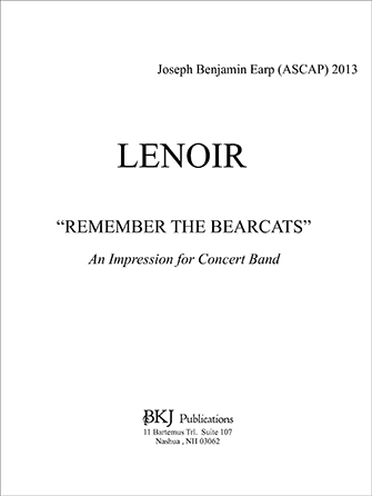 Lenoir - Remember The Bearcats