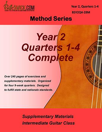 Bill Swick's Intermediate Guitar Class Method