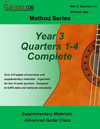 Bill Swick's Advanced Guitar Class Method