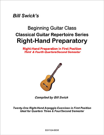 Bill Swick's Solo Repertoire Collection: Right-Hand Preparatory