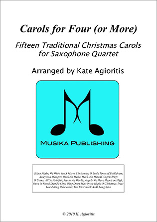 Carols for Four (or more) - Saxophone Quartet