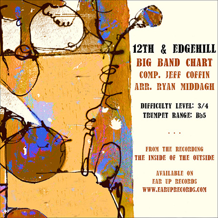 12th & Edgehill jazz sheet music cover