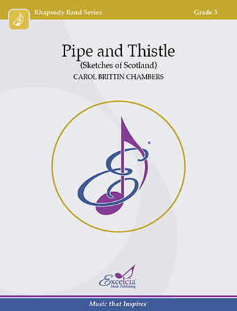Pipe and Thistle band sheet music cover