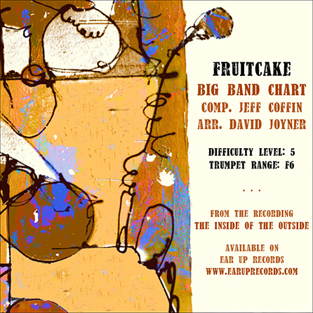 Fruitcake jazz sheet music cover