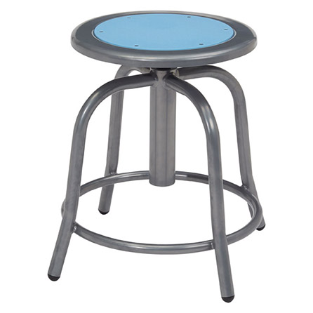 Swivel Stools with Grey Frame